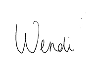 wendi fleener signature