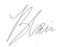 Blair Signature